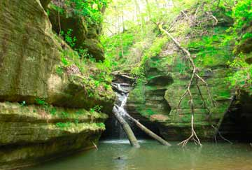 trekking en Starved Rock