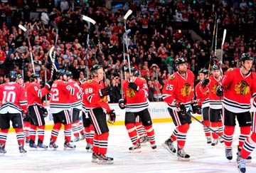 ir a ver a los Chicago Blackhawks