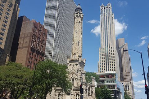 Magnificent Mile la torrel del Agua Chciago
