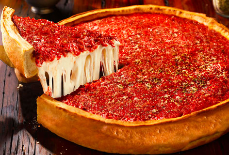 que comer en chicago, pizza